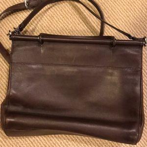 Coach Genuine Leather Crossbody Handbag
